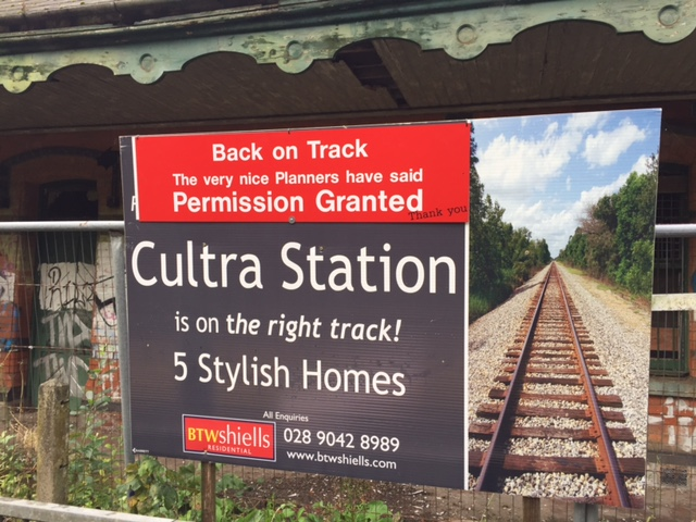 cultra station planning approval sign