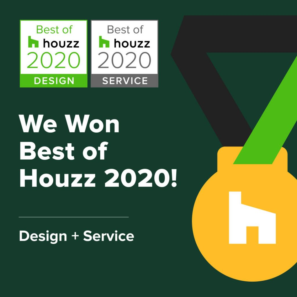 Best of Houzz Design and Service badge 2020